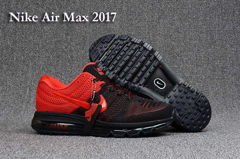 air max 2017 rouge et noir